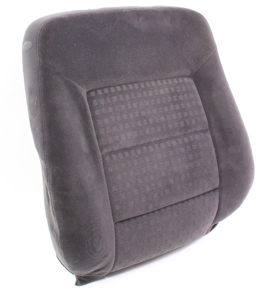 RH Front Seat Back Rest Cushion & Cover VW 01-05 Passat B5.5 - Charcoal Cloth