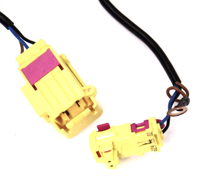 seat side airbag air bag wiring plug harness 01 05 vw passat b5 5 rh ebay com vw golf airbag wiring Airkewld VW
