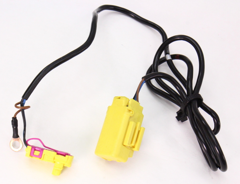 seat side airbag air bag wiring plug harness 01 05 vw passat b5 5 rh ebay com  seat belt airbag wiring harness
