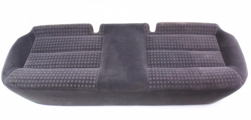 Rear Back Seat Cushion Foam & Cover 01-05 VW Passat B5.5 Sedan - Charcoal Cloth
