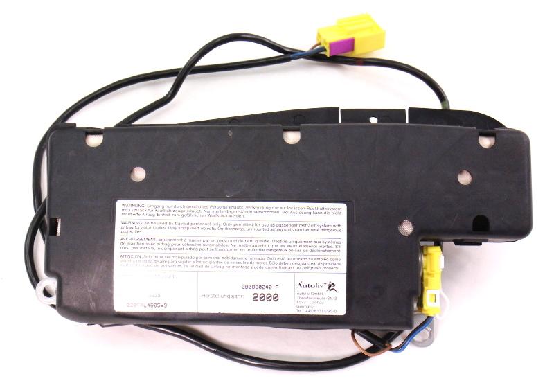 RH Seat Side Airbag Air Bag 00-02 VW Passat Cabrio - 3B0 880 240 F