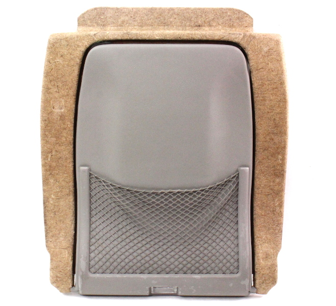 Front Seat Back Panel Net Pocket 98-04 Audi A6 C5 Allroad - Platin Hell Grey