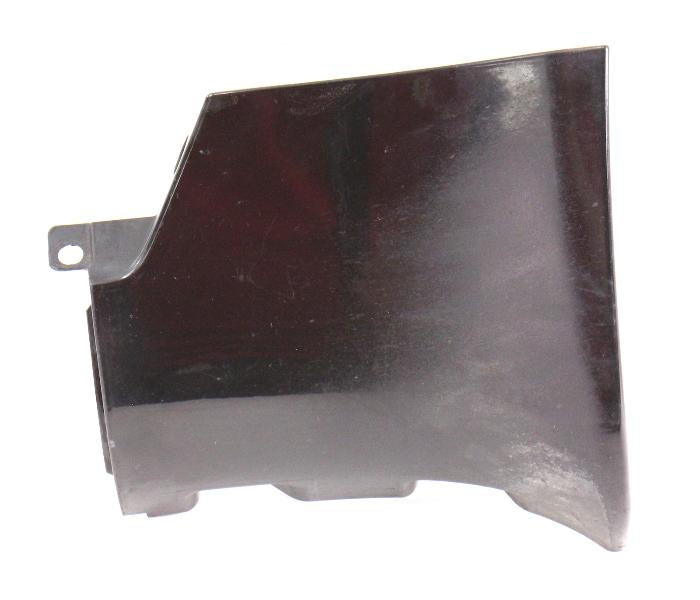 LH Rear Side Skirt End Cap Trim 98-04 Audi A6 V6 - LY9B Black - 4B0 853 579