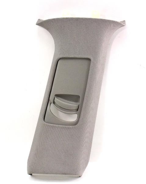 RH B Pillar Seat Belt Trim Cover 02-04 Audi A6 C5 Allroad - Grey - 4B0 867 244 D