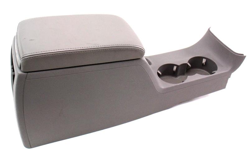 Leather Center Console Armrest 01-05 VW Passat B5.5 Arm Rest Grey Arm Rest