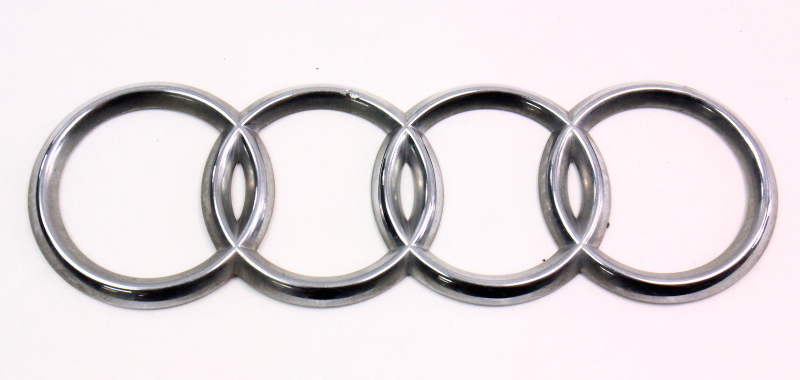Trunk Rings Emblem Badge Audi A S B Genuine EBay - Audi emblem