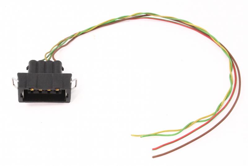 Maf Sensor Wiring Plug Pigtail Vw Jetta Golf Gti Mk3 Passat Audi A4 1 8t B5