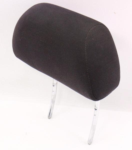 Front Headrest 93-99 VW Jetta Golf GTI Cabrio MK3 Black Canvas Cloth Head Rest