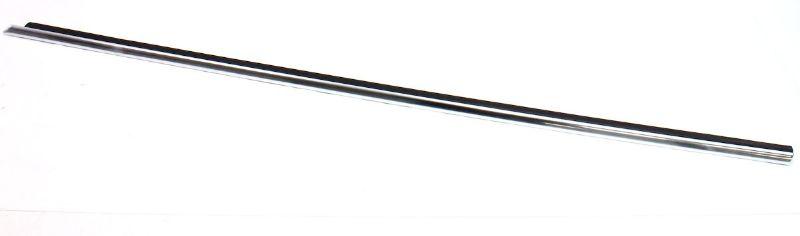 LH Front Chrome Door Window Seal Scraper Trim Molding 01-05 VW Passat B5.5