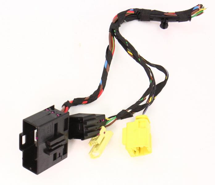 RH Heated Seat Wiring Plugs Pigtails Airbag 06-10 VW Passat B6 ~ 7L0 972  752 | eBayeBay