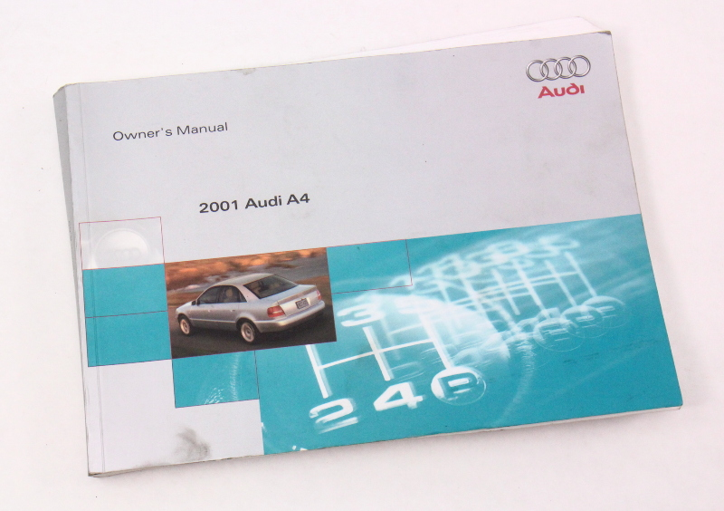 2001 audi a4 b5 owner s manual case operation book genuine ebay rh ebay com audi a4 b5 service manual audi a4 b5 repair manual
