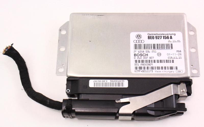 TCM TCU Transmission Computer W/ Plug 03-03 Audi A4 B6 Quattro - 8E0 927 156 A