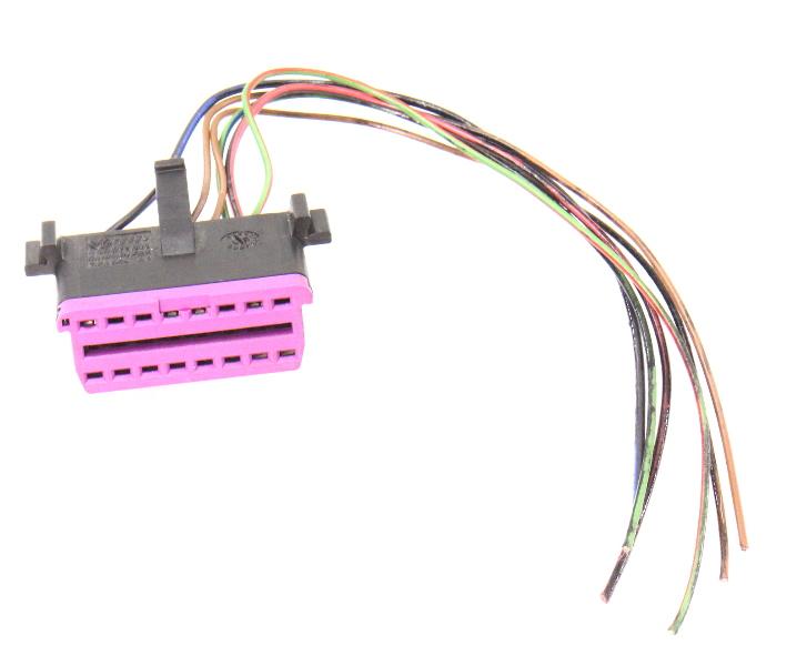OBD Port Diagnostics Wiring Harness Pigtail 02-05 Audi A4 B6 - 8D0 972 695