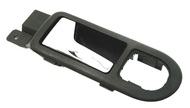 LH Front Door Pull Handle Dark Gray VW Jetta Golf MK4 Passat B5 - 3B1 837 113