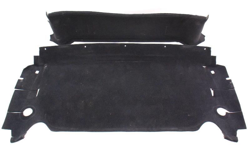 Rear Window Shelf Carpet Convertible Top 95-02 VW Cabrio MK3 - Genuine