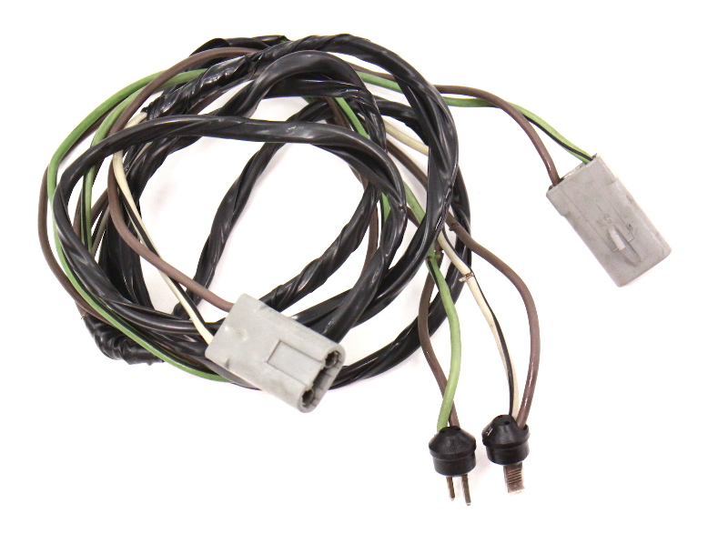 front speaker radio wiring harness plugs 81 84 vw rabbit jetta rh ebay com 2008 rabbit wiring harness vw mk1 rabbit wiring harness