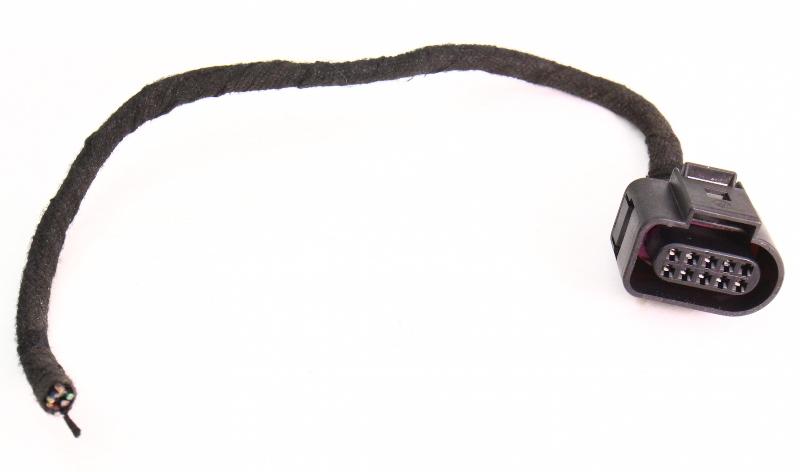 LH Door Latch Plug Pigtail Harness Connector 98-01 Audi A6 C5 - 1J0 973 715