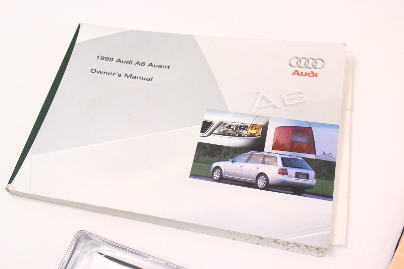 1999 audi a6 c5 avant wagon owners manual information books rh ebay com audi a6 avant service manual audi a6 avant user manual
