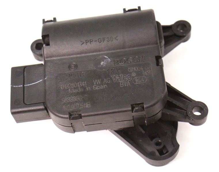 AC Heater Box Flap Motor Actuator 05-18 VW Jetta Golf MK5 MK6 - 1K0 907 511 B