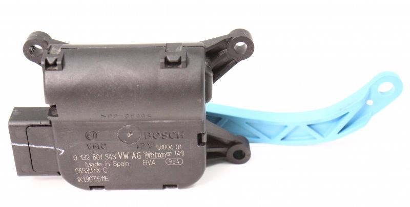 AC Heater Box Flap Motor Actuator 05-18 VW Jetta Golf MK5 MK6 - 1K1 907 511 E