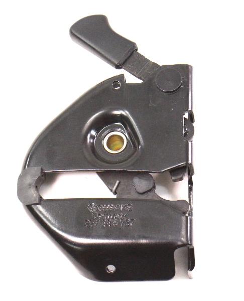 LH Rear Seat Fold Down 95-97 VW Passat B4 Latch Lock - Genuine - 357 885 737