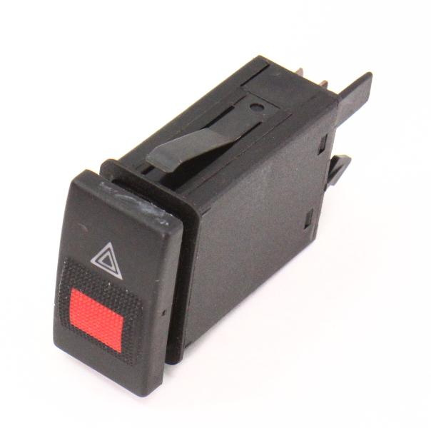 Hazard Flashers Switch Dash Button 96-99 Audi A4 B5 - Genuine - 8D0 941 509 E