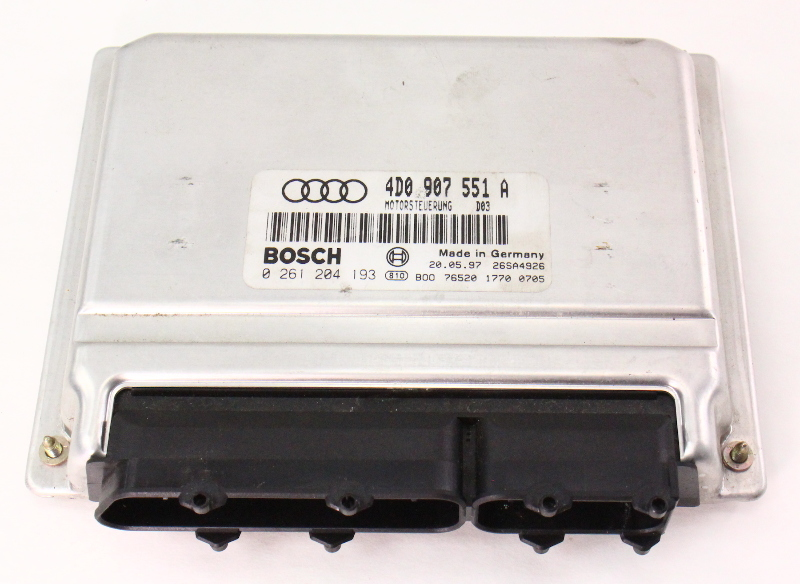 2.8 V6 Engine Computer Module ECU ECM 97-98 Audi A4 B5 - 4D0 907 551 A
