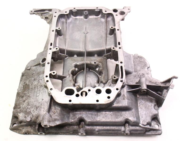Upper Oil Pan 96-98 Audi A4 2.8 V6 Oilpan - Genuine - 078 103 603 M