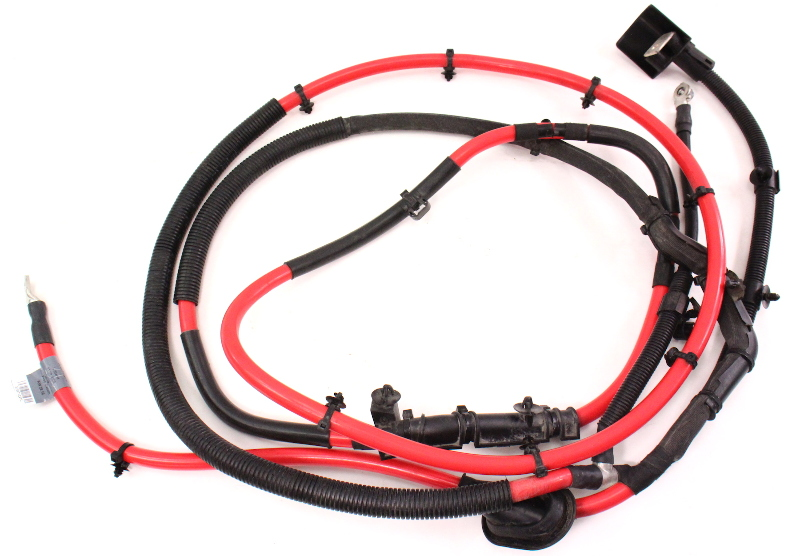 cp040288 trunk battery cable wiring harness 06 10 vw passat b6 genuine 3c0 971 227 c trunk battery cable wiring harness 06 10 vw passat b6 genuine truck wire harness at highcare.asia