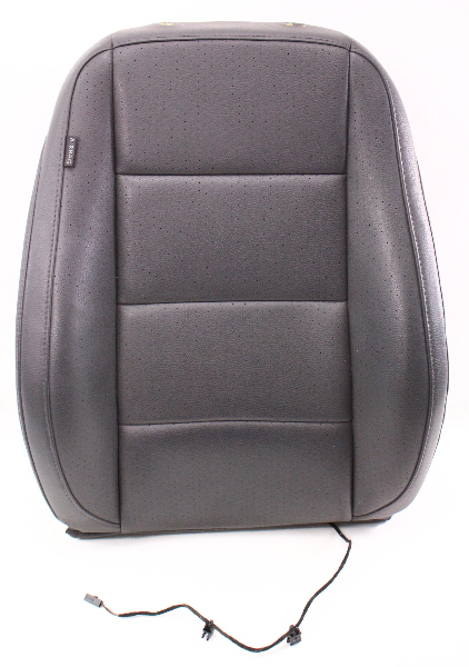 RH Front Seat Back Rest Gray Leatherette Cover & Foam 05-10 VW Jetta Rabbit Mk5