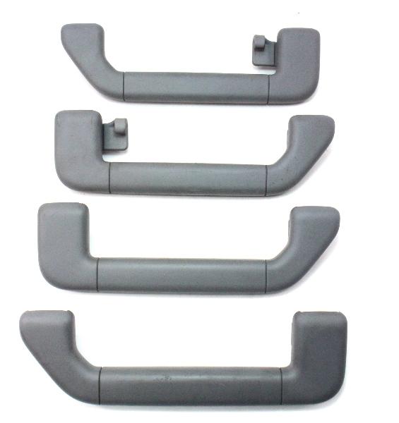 Ceiling Roof Interior Grab Pull Handle Grey Set 04-06 VW Phaeton ~ Genuine