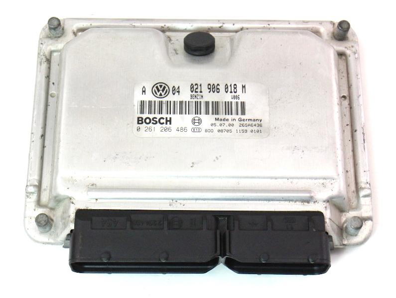 ECU ECM Engine Computer 2.8 VR6 AFP MT 00-01 VW Jetta MK4 - 021 906 018 M