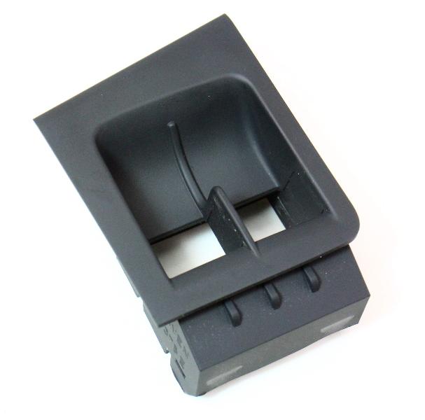 Fuel Door Hatch Release Switch Surround 05-09 VW Rabbit GTI MK5 - 1K3 867 375 E