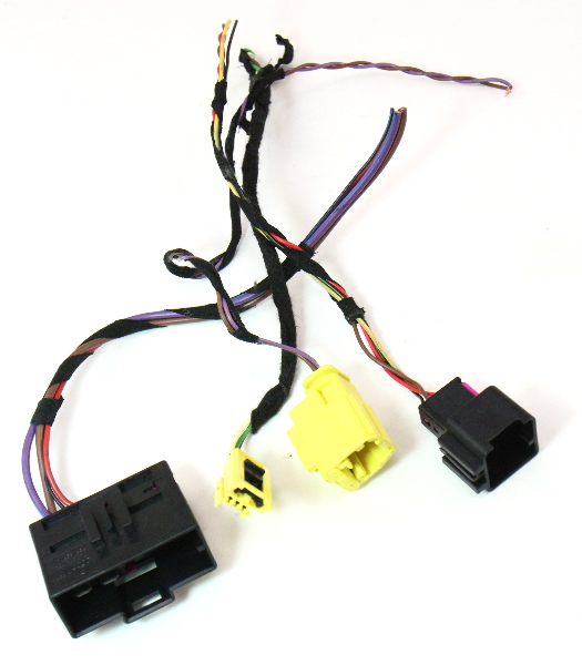 cp041068 rh heated seat wiring harness pigtail plugs connectors 05 07 vw jetta gti mk5 rh heated seat wiring harness pigtail plugs connectors 05 07 vw  at sewacar.co
