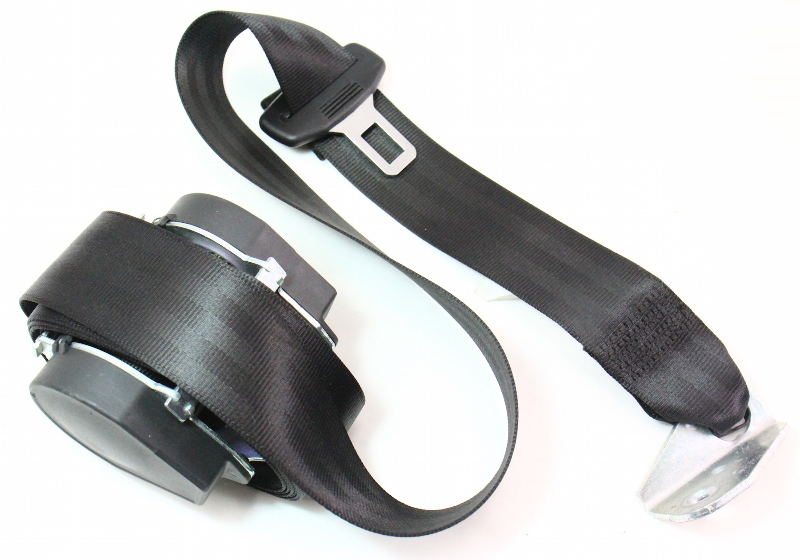 LH Rear Seatbelt 06-09 VW Rabbit Golf GTI Mk5 Shoulder Seat Belt - 1K6 857 805 G