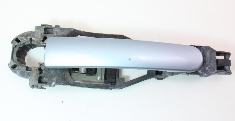 RH Exterior Door Handle 99-05 VW Jetta Golf Passat B5 B5.5 - LB5S Blue - Genuine