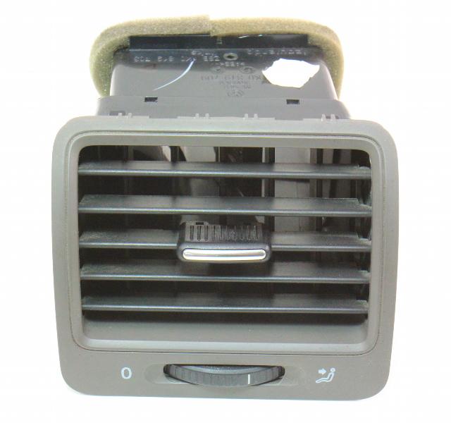 LH Dash Air Vent 05-10 VW Jetta Rabbit Golf MK5 - Brown - Genuine - 1K0 819 703