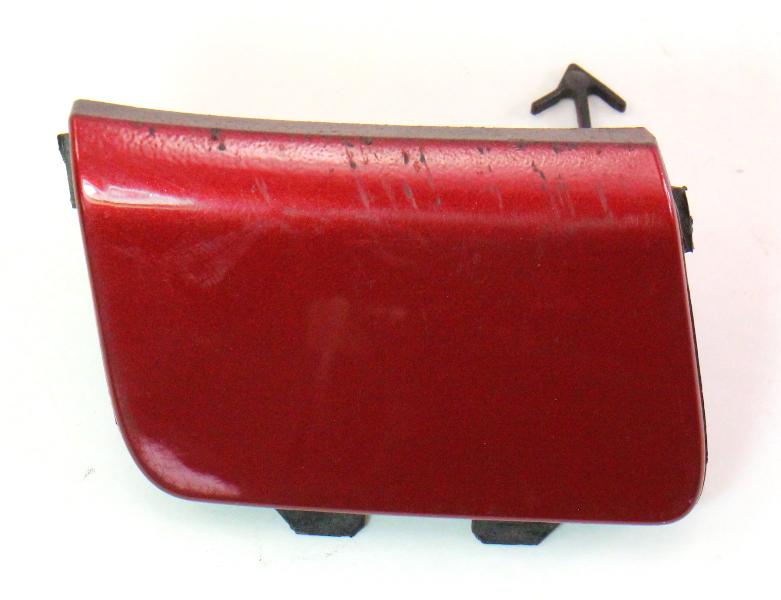 Rear Bumper Tow Hook Cover 05-10 VW Jetta MK5 - LA3W Red Spice - 1K5 807 441