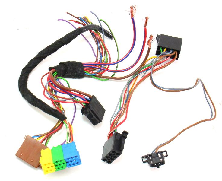 cp041980 radio head unit wiring harness plugs pigtails 01 05 vw jetta golf mk4 passat radio head unit wiring harness plugs pigtails 01 05 vw jetta golf jetta mk4 wiring harness radio at panicattacktreatment.co