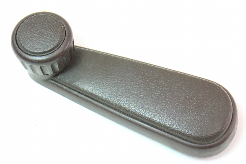 Window Roller Crank Handle 85-92 VW Jetta Golf GTI MK2 Brown Genuine 191 837 579