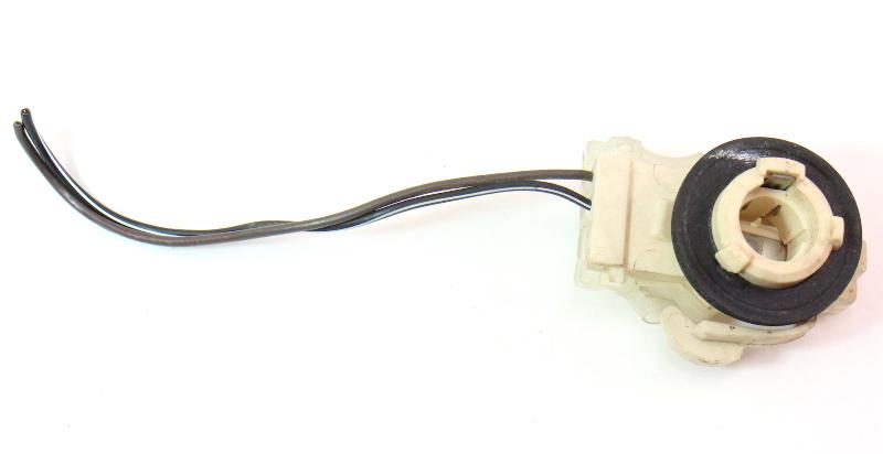 2 Wire Tail Light Bulb Socket Holder Plug Pigtail 85-92 VW Golf GTI MK2 .