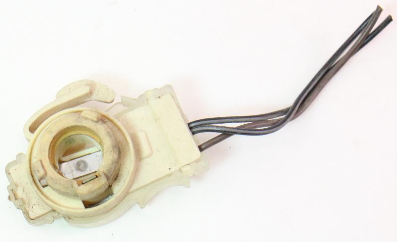 3 Wire Tail Light Bulb Socket Holder Plug Pigtail 85-92 VW Golf GTI MK2 -