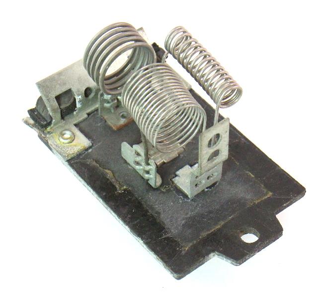 HVAC Heater Blower Motor Resistor 85-92 VW Jetta Golf GTI MK2 - 176 959 263