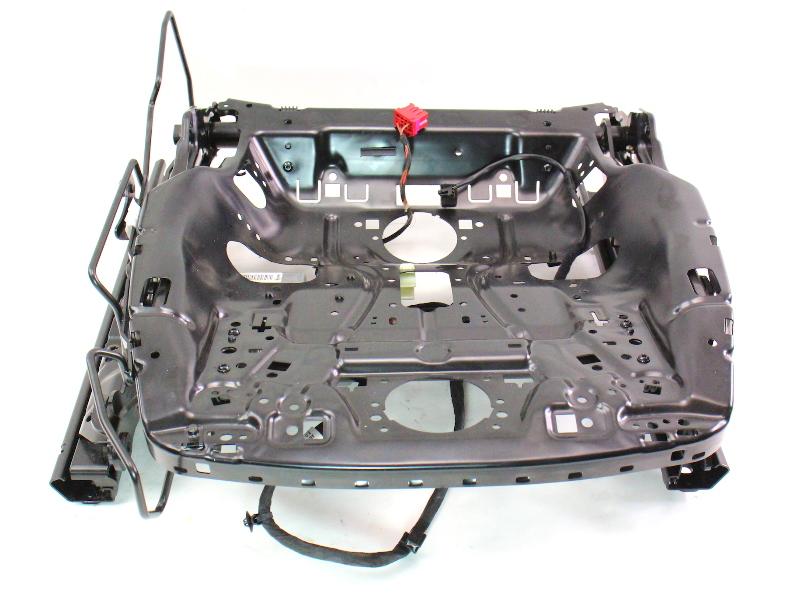 RH Front Seat Track Frame Slider w/ Power Motors 09-16 Audi A4 B8 ...