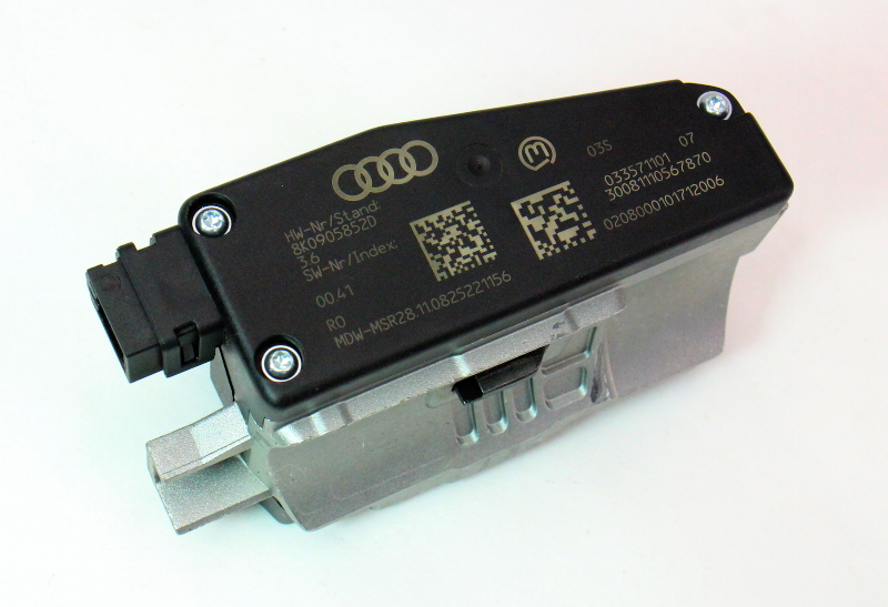 Steering Column Lock Module 09-12 Audi A4 S4 B8 - Genuine - 8K0 905 852 D