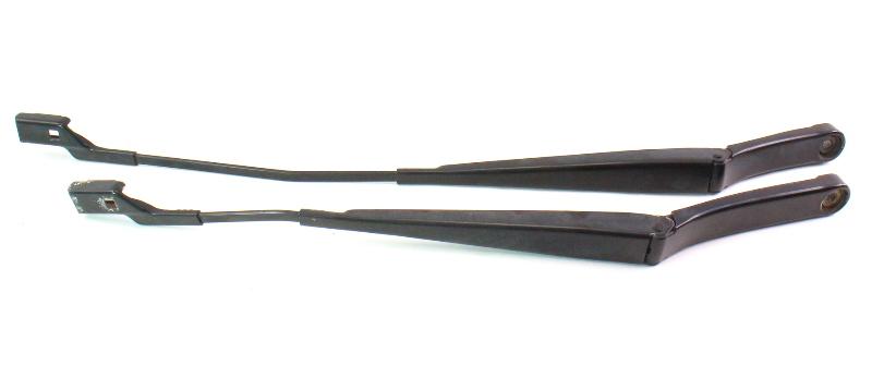 Windshield Wiper Arms Pair 06-10 VW Passat B6 Genuine - 3C1 955 409 C / 410 B