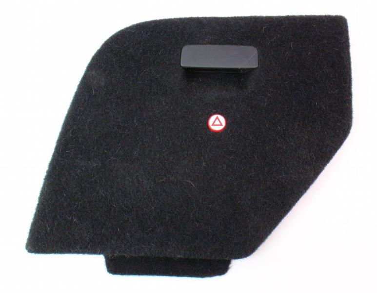 LH Trunk Side Carpet Door VW Jetta Wagon MK4 - Hatch Access Panel - Genuine