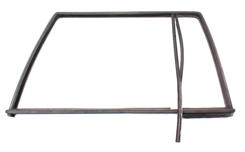 LH Rear Door Window Molding Seal Scraper Trim 01-05 VW Jetta MK4 Wagon - Genuine