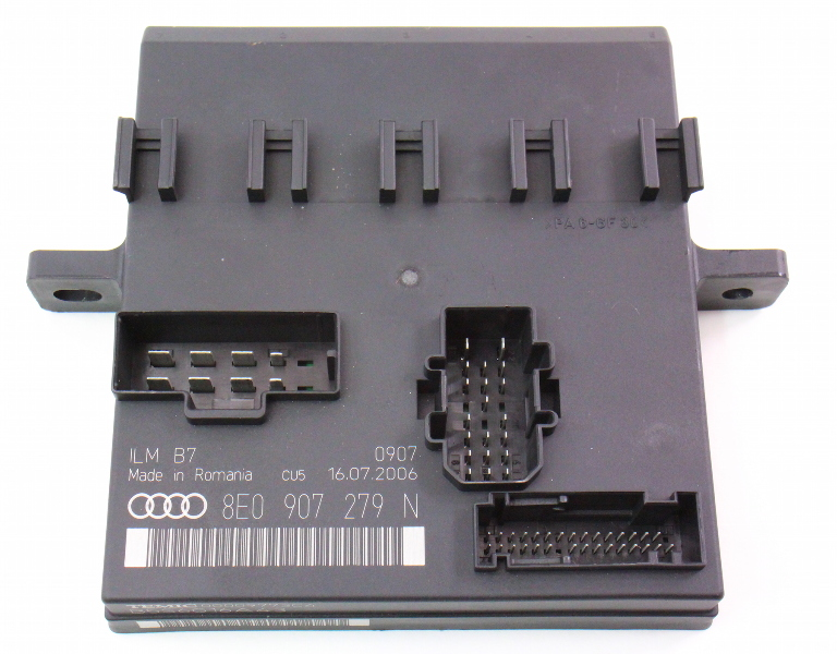 Body Power Control Module 07-09 Audi A4 S4 RS4 B7 - Genuine - 8E0 907 279 N