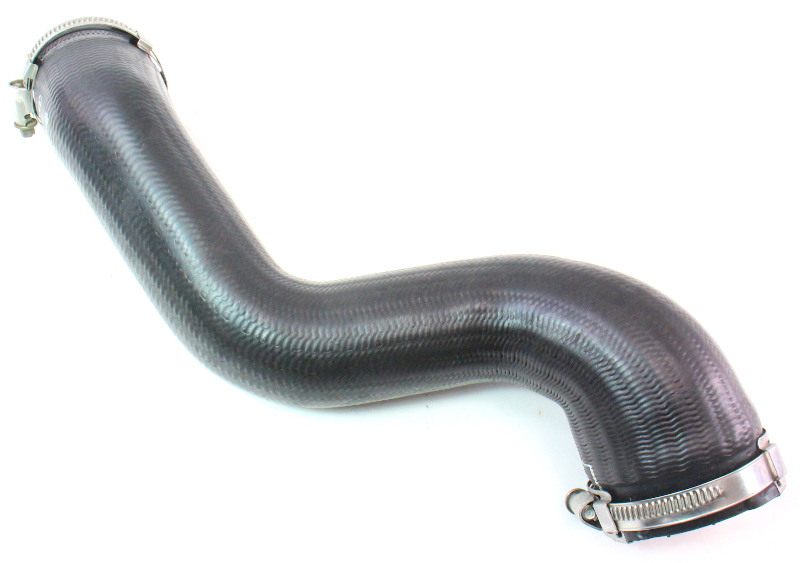 LH Upper Intercooler Tube Hose 05-08 Audi A4 B7 2.0T - Genuine - 8E0 145 737 Q